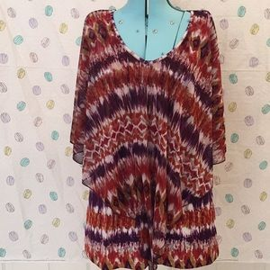 Susan Lawrence Flowing Boho Top